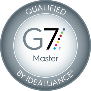 Qualified by Idealliance G7 Master Logo